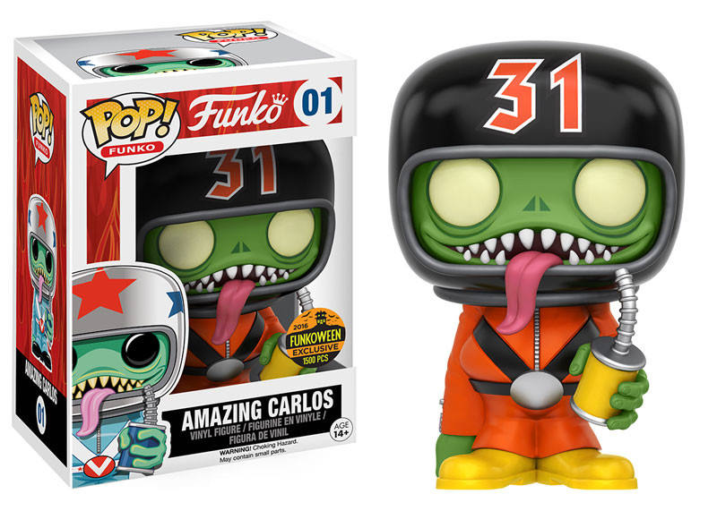 amazing carlos halloween pop funko action figure 001