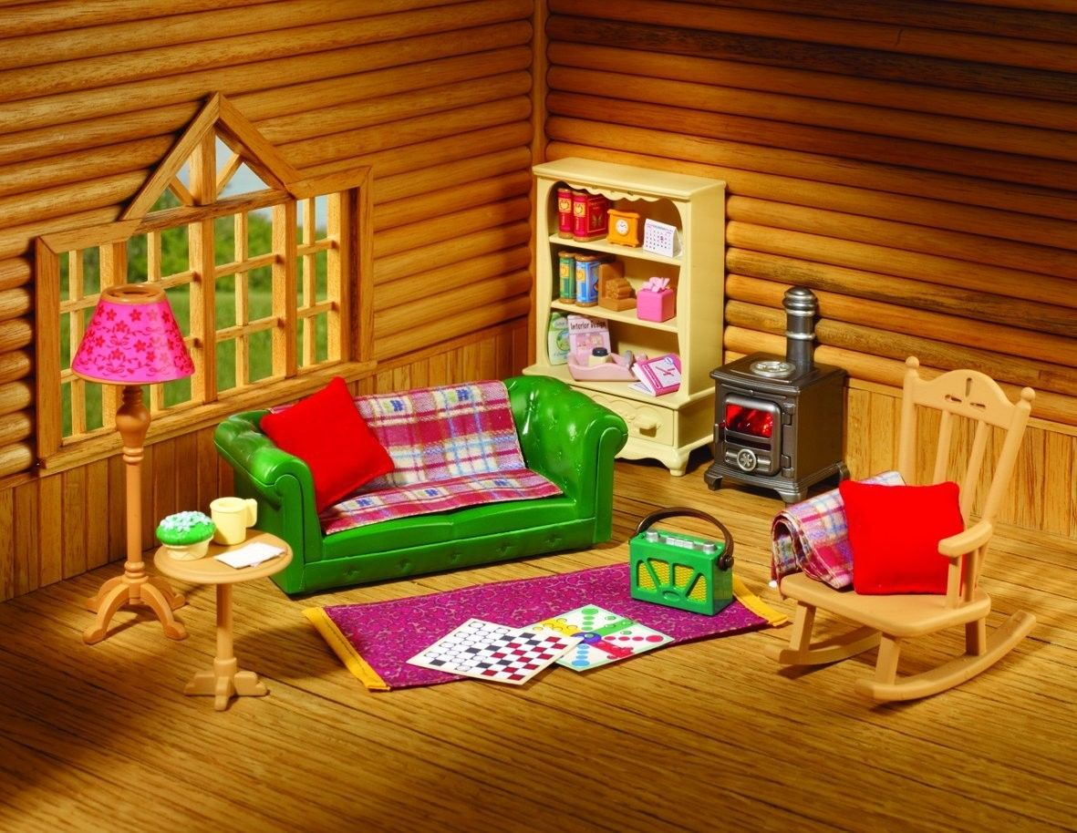 Sylvanian Families Cosy Living Room Set | Taraba Home Review