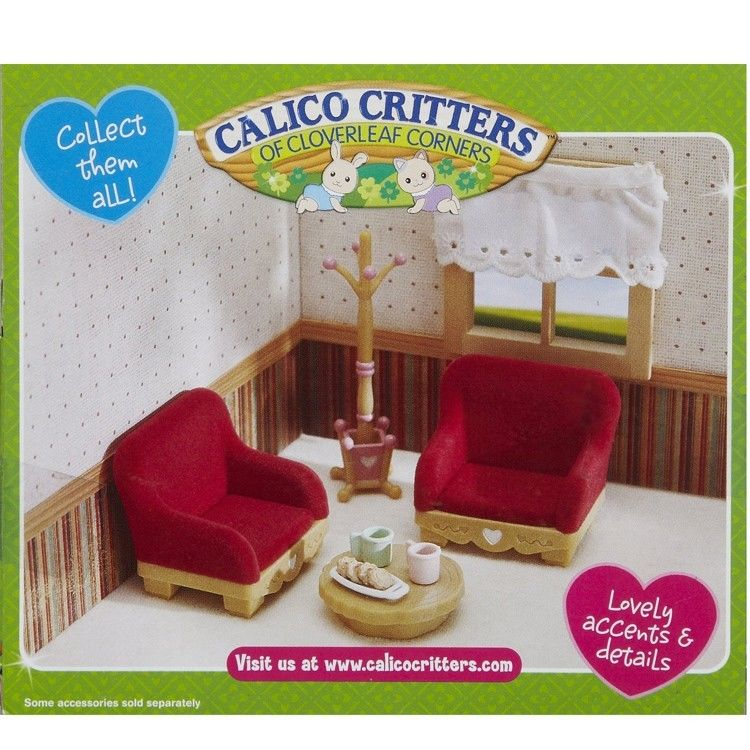 country living room furniture set - calico critters (usa, canada)