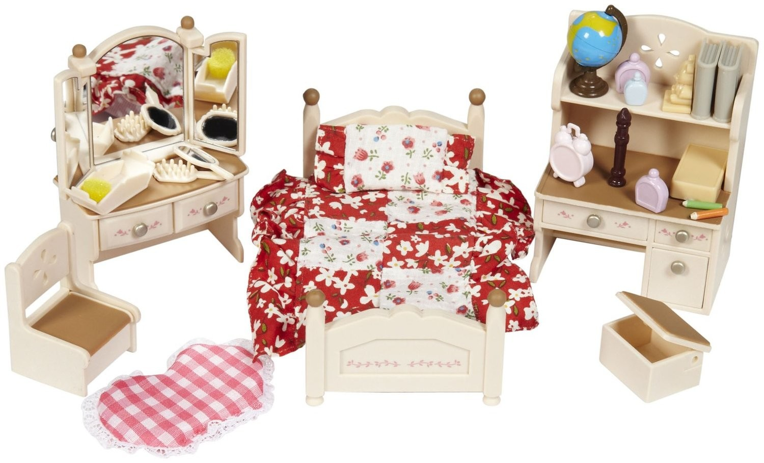 sister's bedroom set  calico critters usa canada cc2268