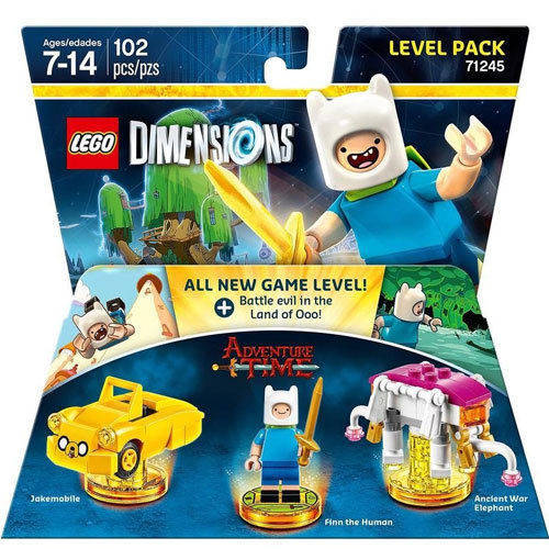 Adventure Time Level Pack Lego Dimensions Set 71245