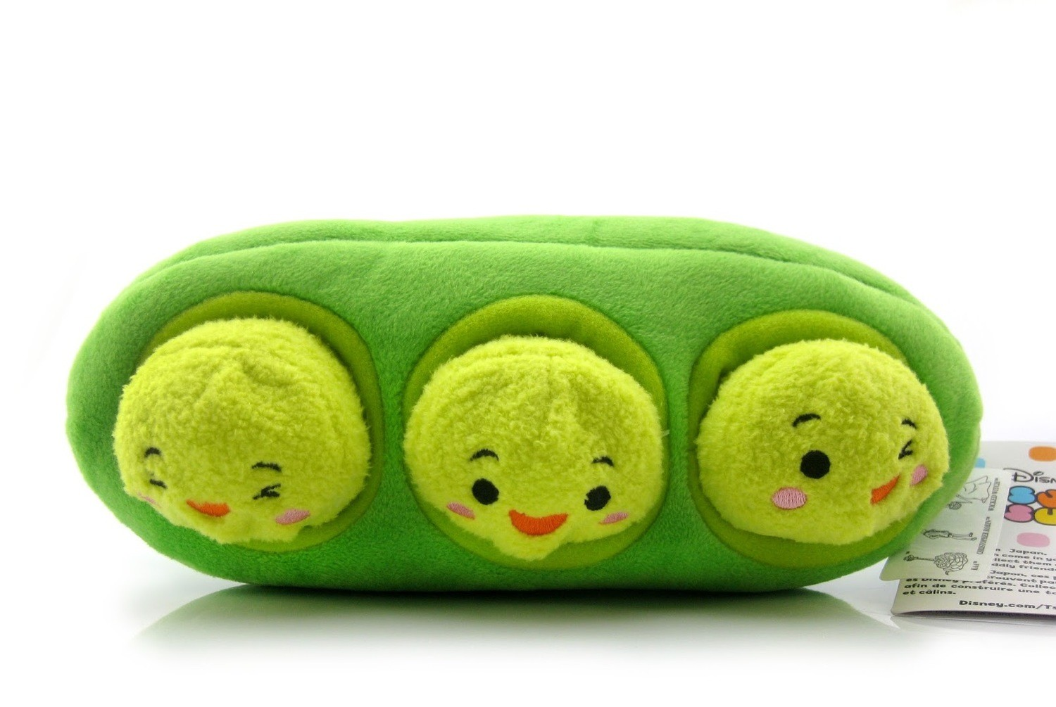 Three Peas In a Pod Set - Tsum Tsum Bag And Set action figure