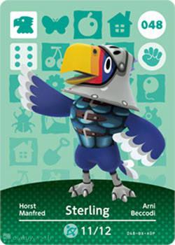 Sterling - Animal Crossing Cards: Series 1 048