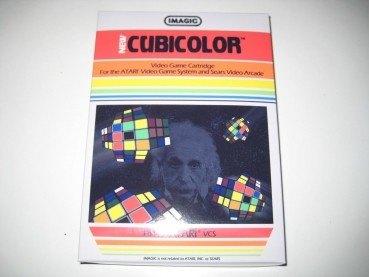 Cubicolor - Atari 2600 game