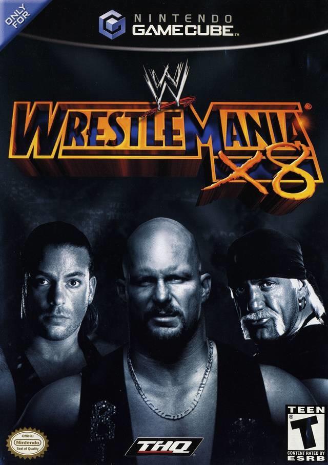 WWE WrestleMania X8 - Nintendo Gamecube