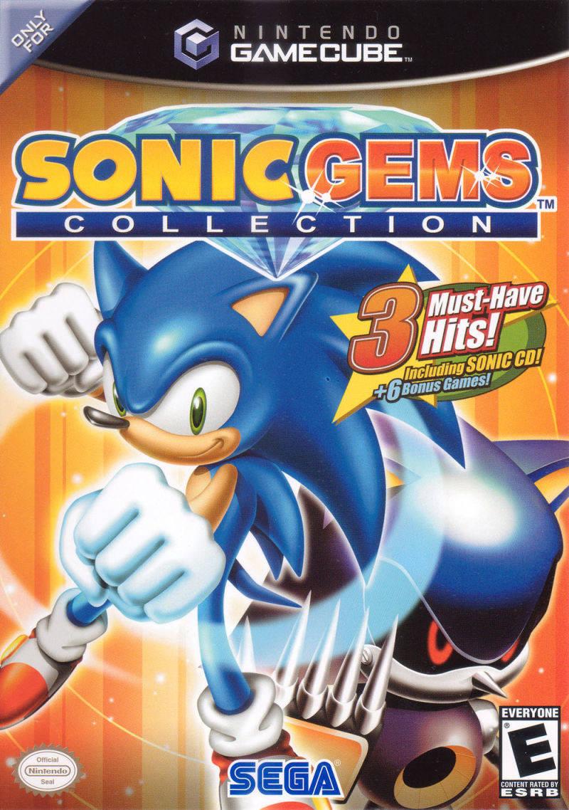 Sonic Gems Collection - Nintendo Gamecube