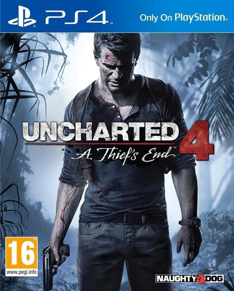 Uncharted 4 A Thief S End Playstation 4 Ps4 Game