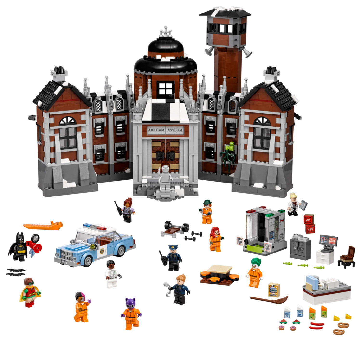 Arkham Asylum The Lego Batman Movie Set 70912