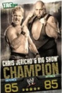 Chris Jericho-WWE Slam Attax Evolution 2009 TOPPS TCG Carte
