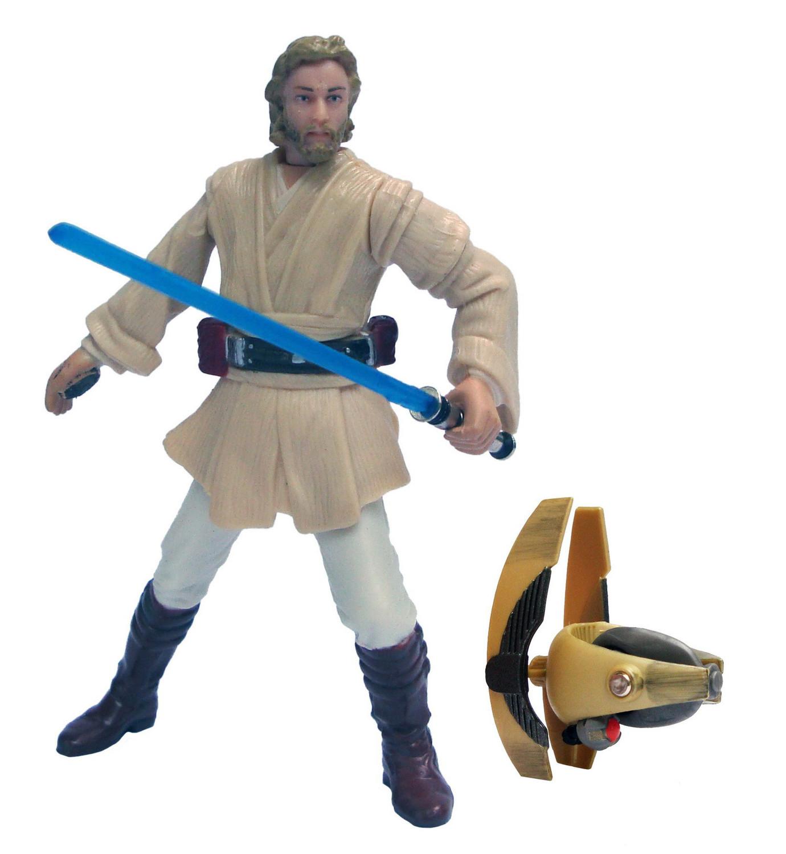 Obi wan kenobi coruscant chase figurine 02 03 star wars saga