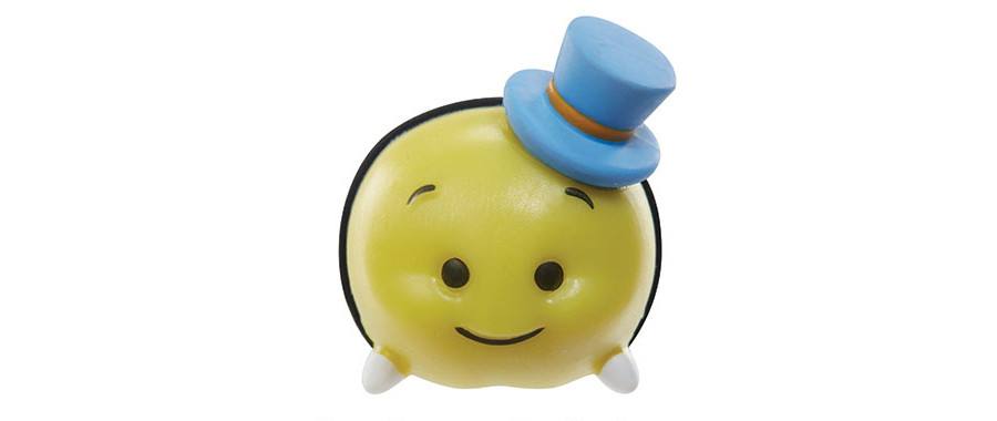 Disney Tsum Tsum Medium Jiminy Cricket Figure NEW