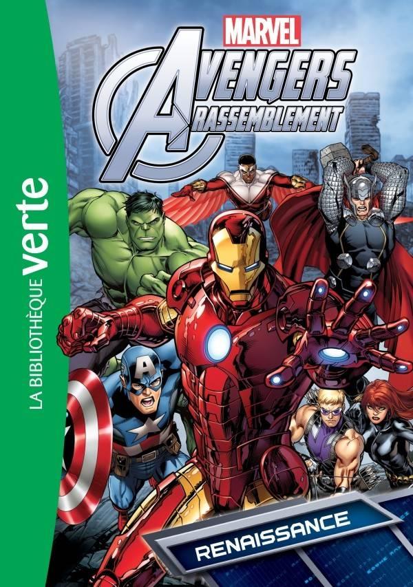 Renaissance Livre Avengers Rassemblement