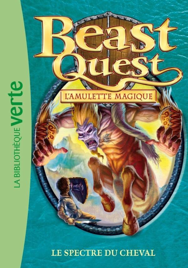 Le Spectre Du Cheval Livre Beast Quest