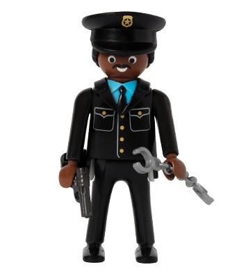 policier personnage playmobil quick - Policier Playmobil