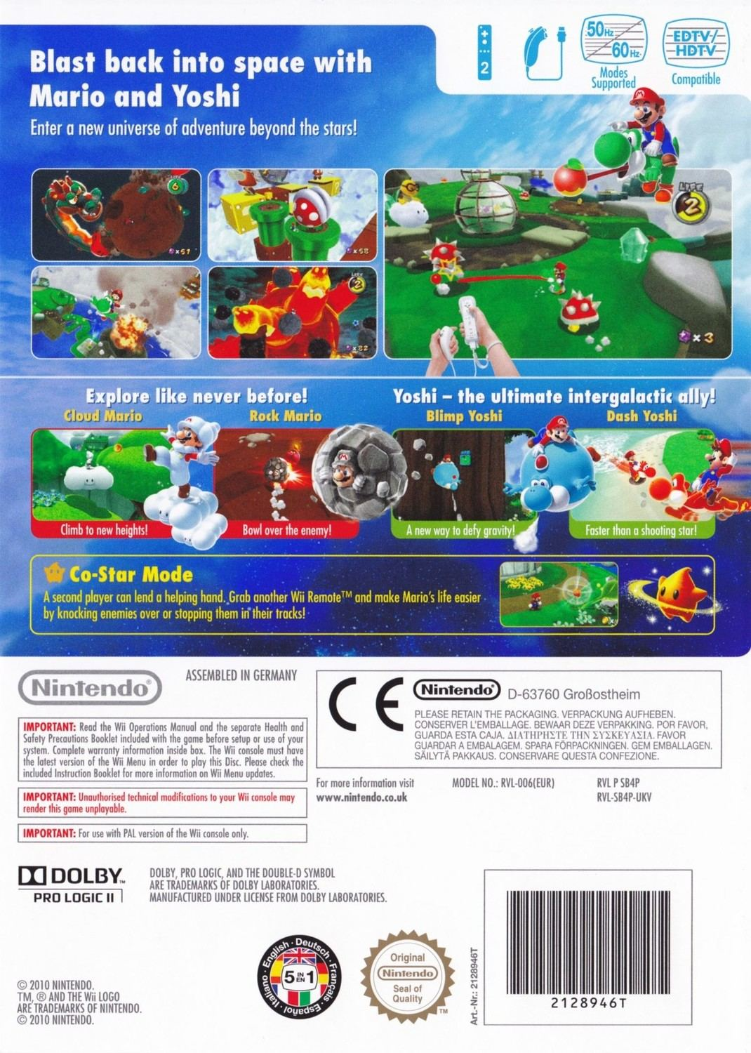 super mario galaxy 2 nintendo wii game