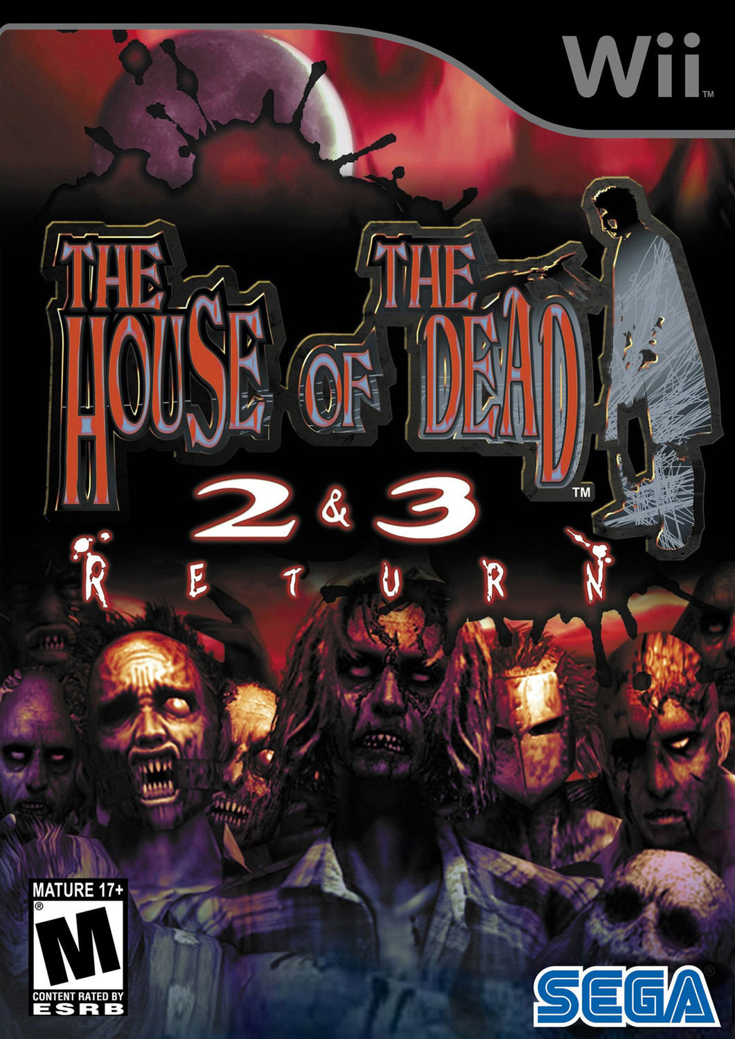 The House Of The Dead 2 3 Return Nintendo Wii Game