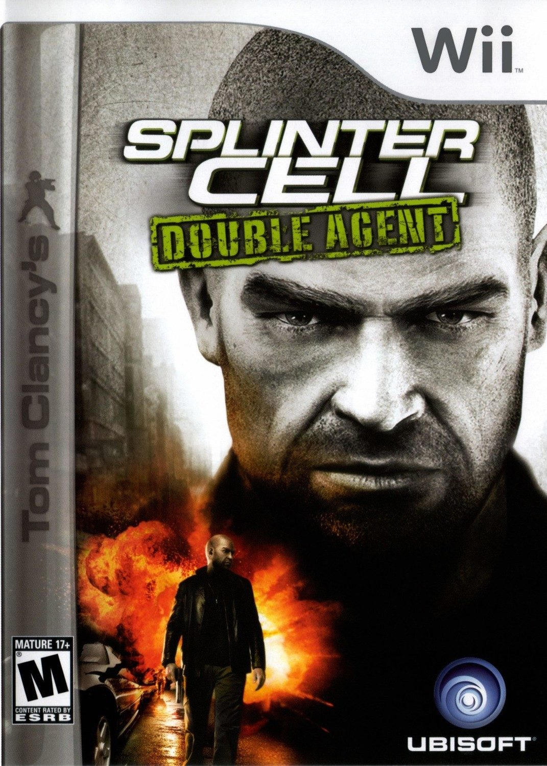 tom clancy's splinter cell: double agent - nintendo wii game