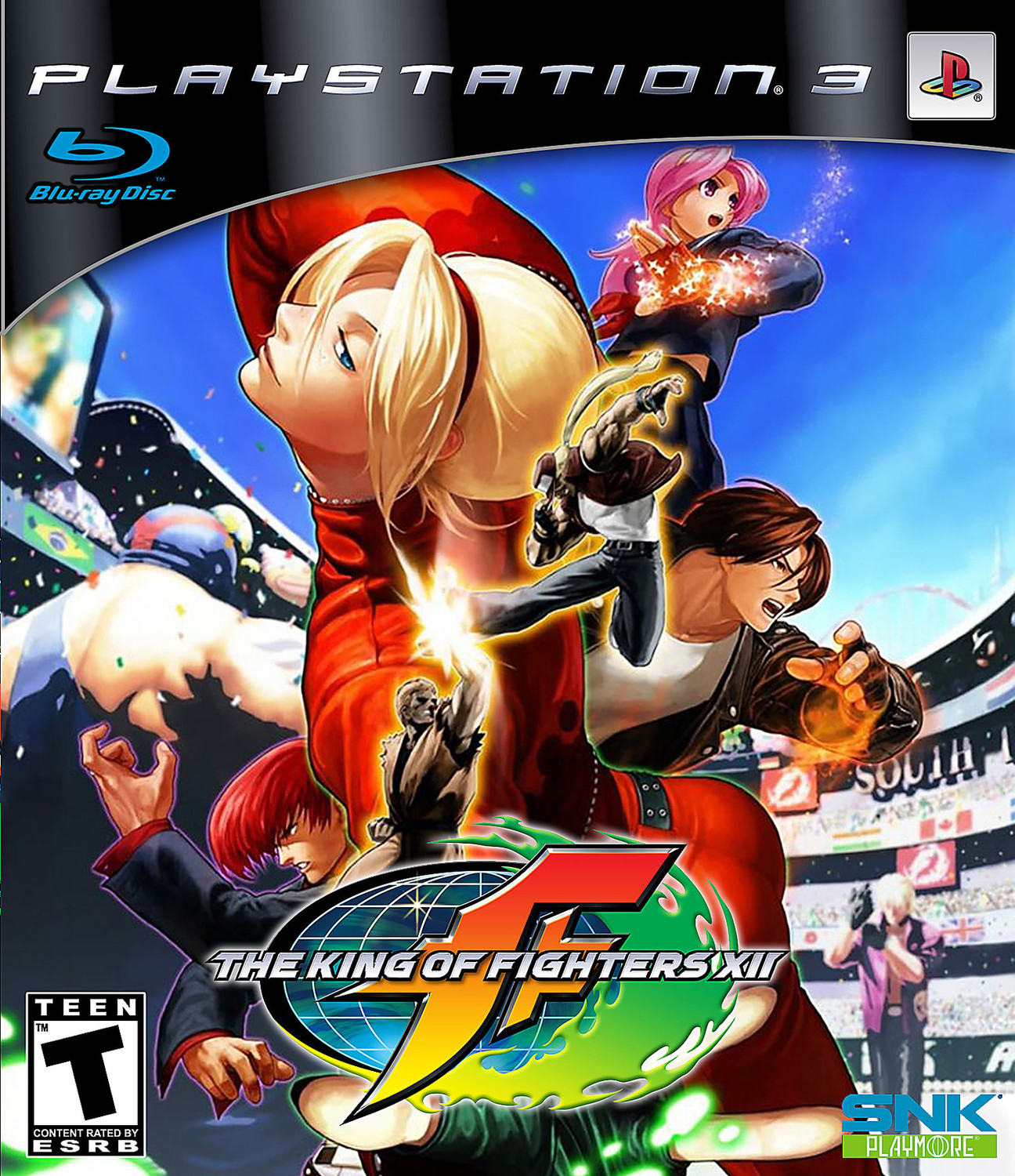 The King Of Fighters Xii Playstation 3 Ps3 Game