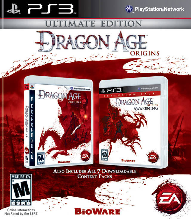 Dragon age: origins (collector's edition) games home.