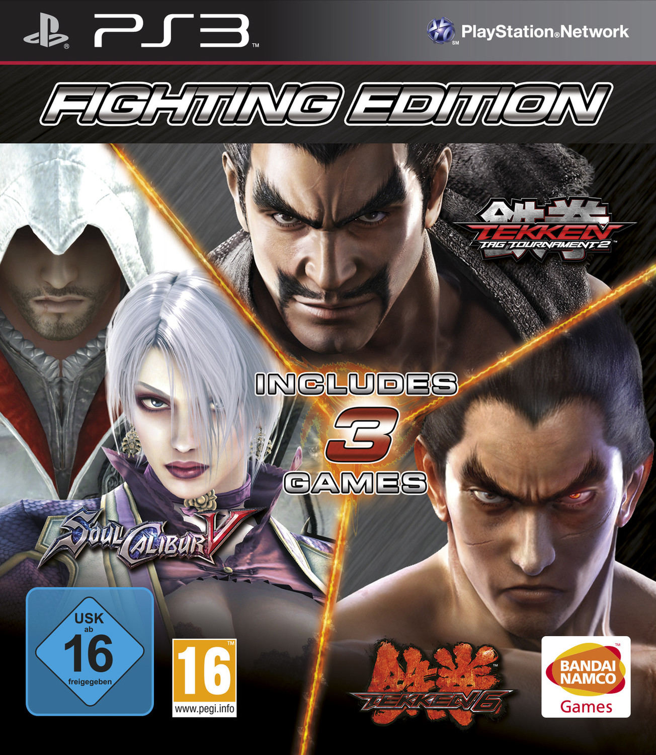 Fighting Edition Tekken 6 Tekken Tag Tournament 2 Soulcalibur
