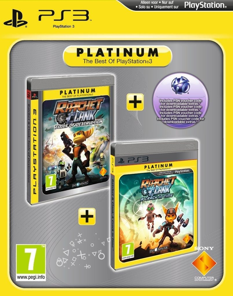 Ratchet Clank Tools Of Destruction And Ratchet Clank A Crack