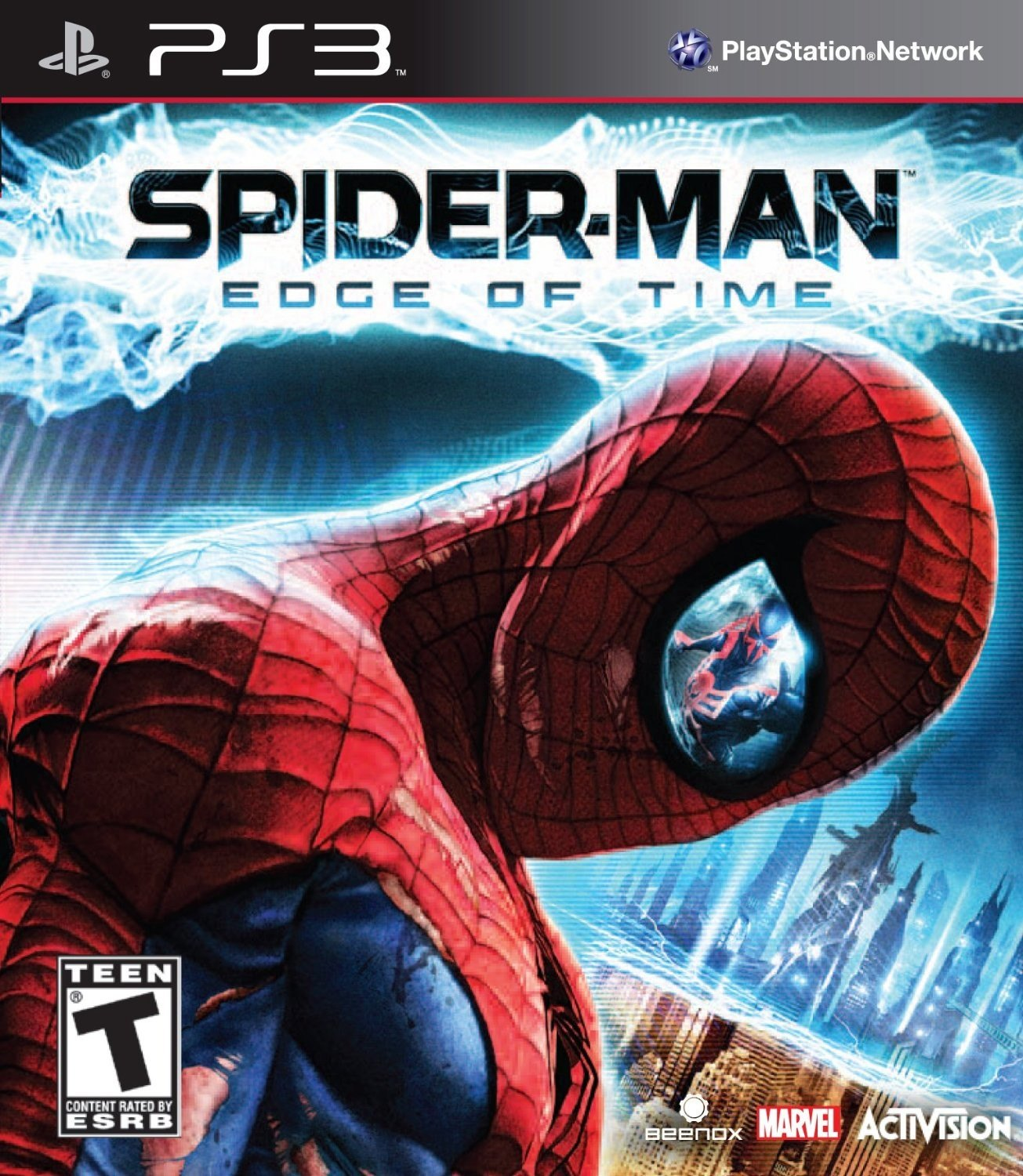 spider man edge of time playstation 3 ps3 game