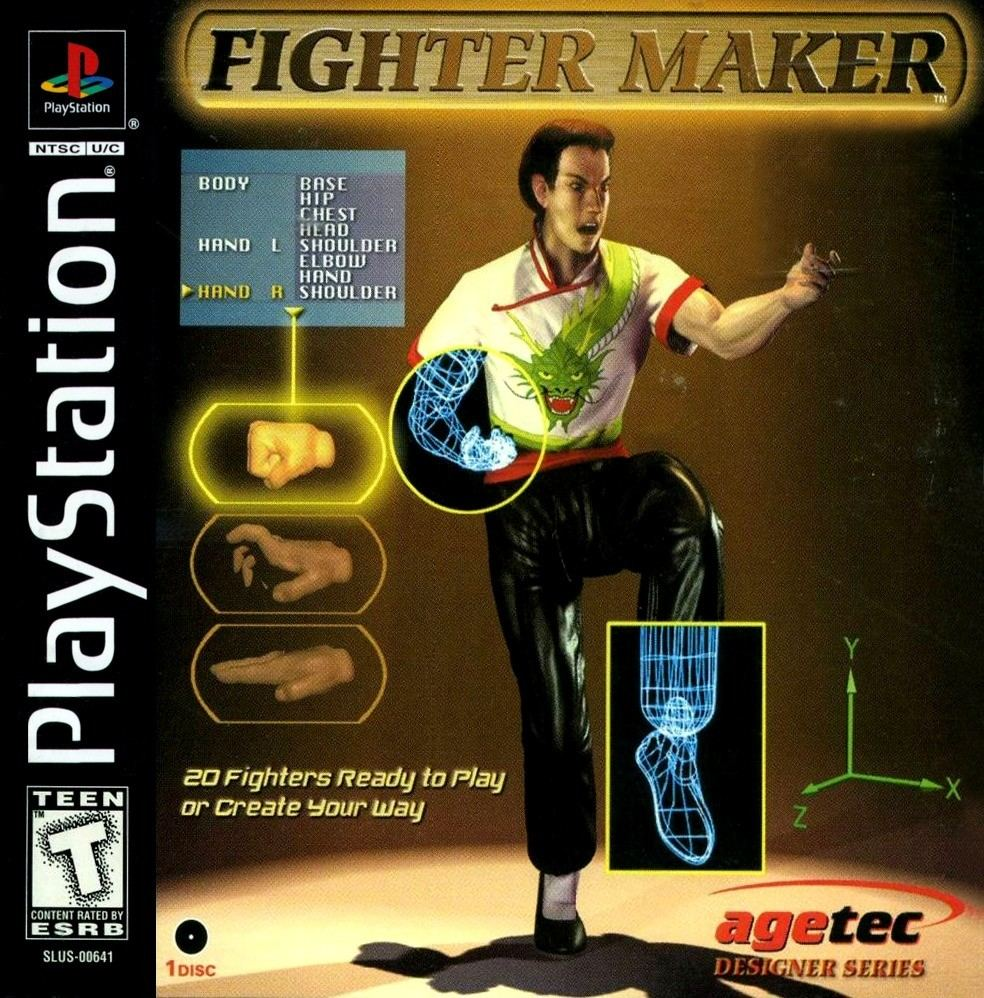 Fighter Maker - Playstation game