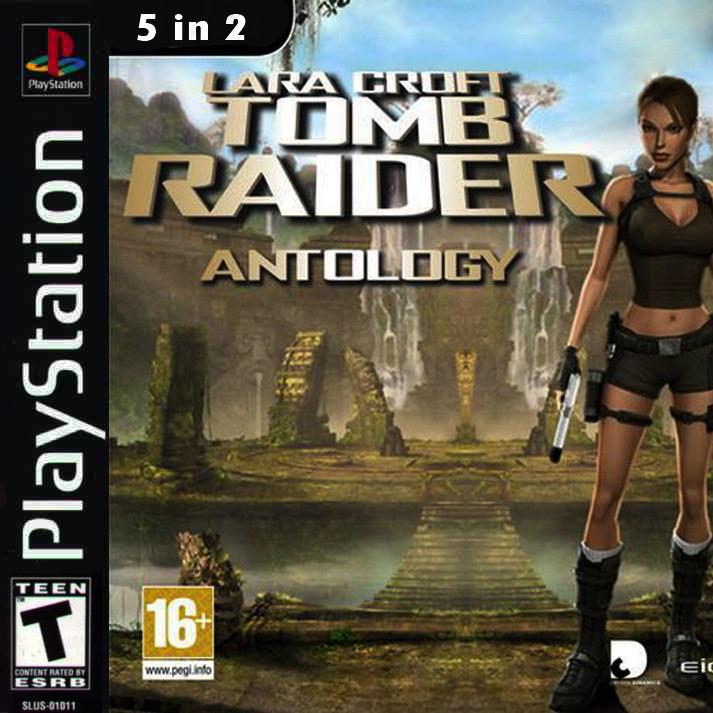 Tomb Raider Antology Playstation Game