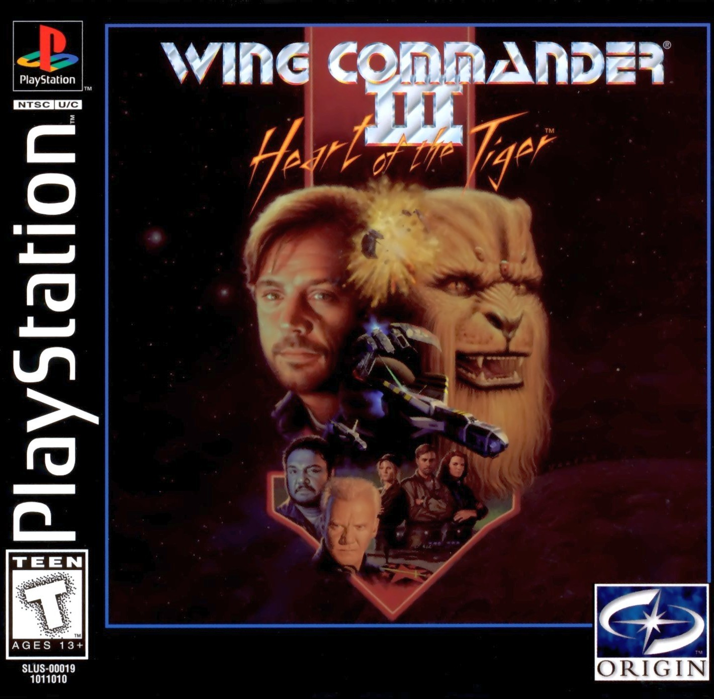 Wing Commander Iii Heart Of The Tiger Playstation Game