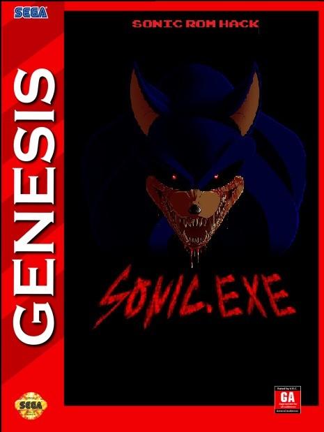 Sonic exe - Sega MEGA DRIVE (Genesis) game