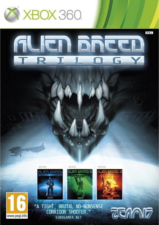 Alien Breed Trilogy - Xbox 360 game