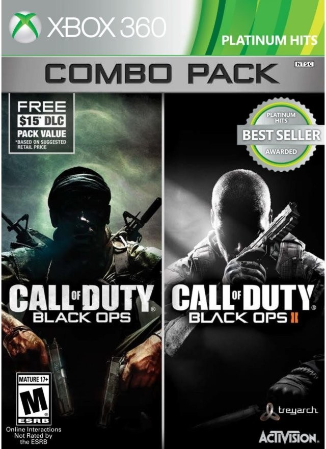 Call Of Duty Black Ops Combo Pack Xbox 360 Game