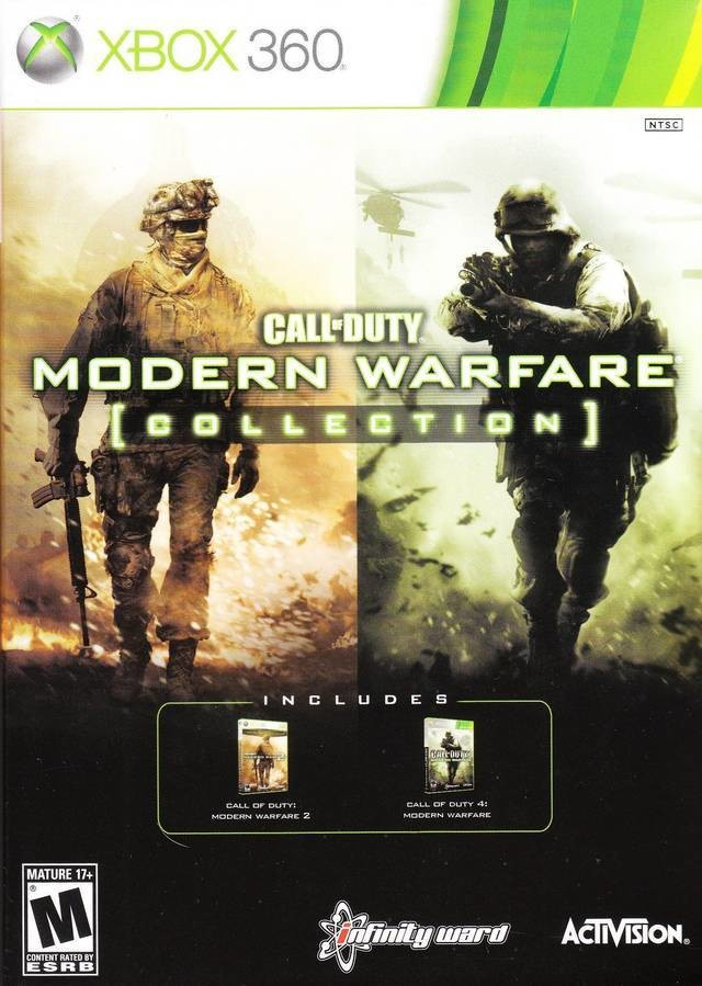Call Of Duty Modern Warfare Collection Xbox 360 Game