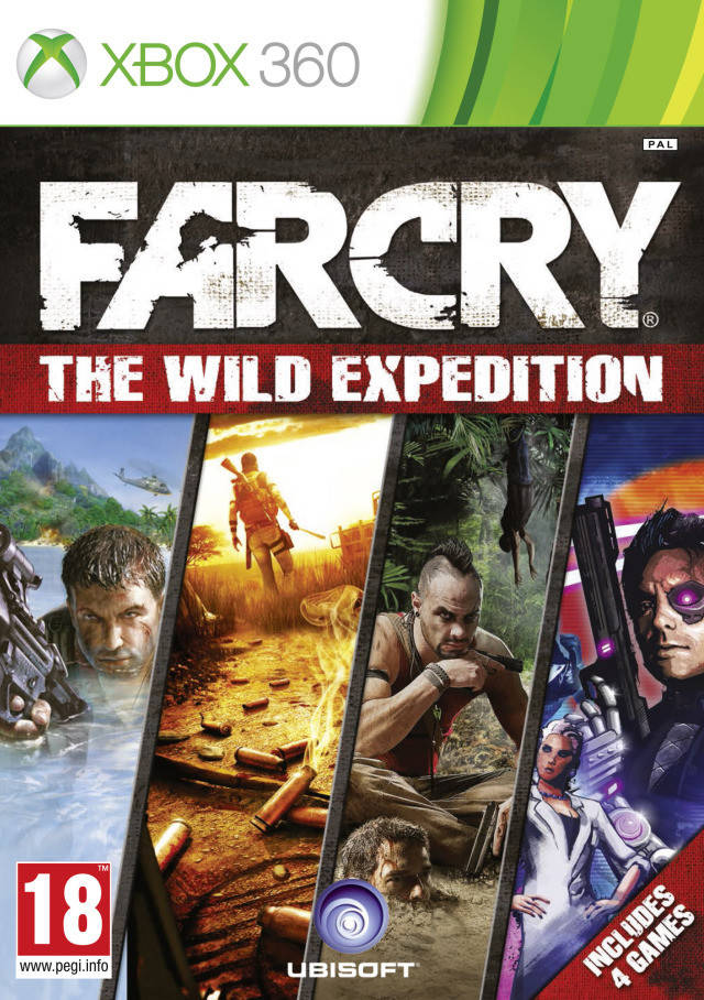 Far Cry The Wild Expedition Xbox 360 Game