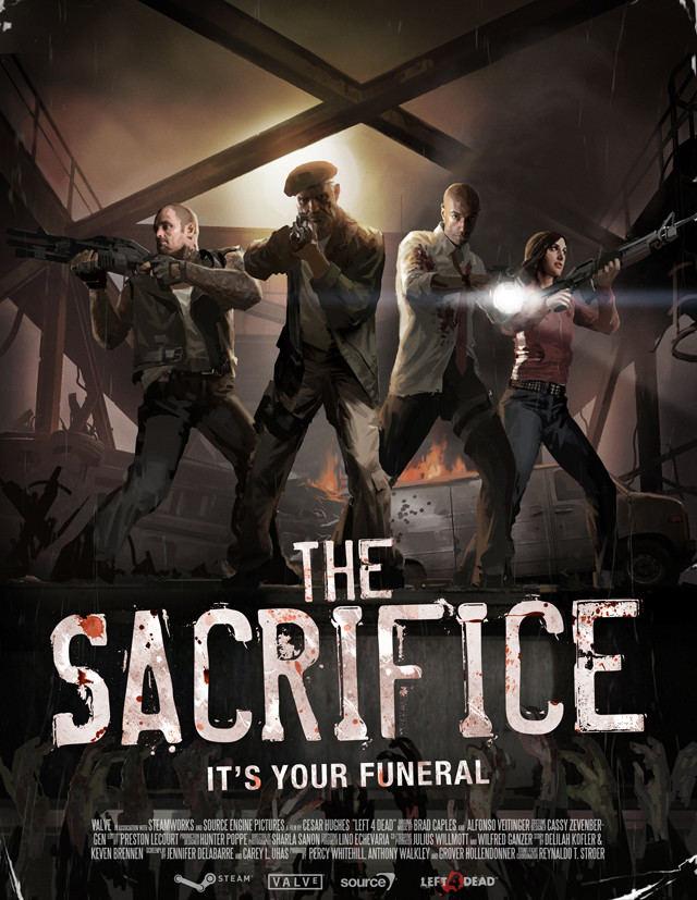 Left 4 Dead 2: The Sacrifice - Xbox 360 game
