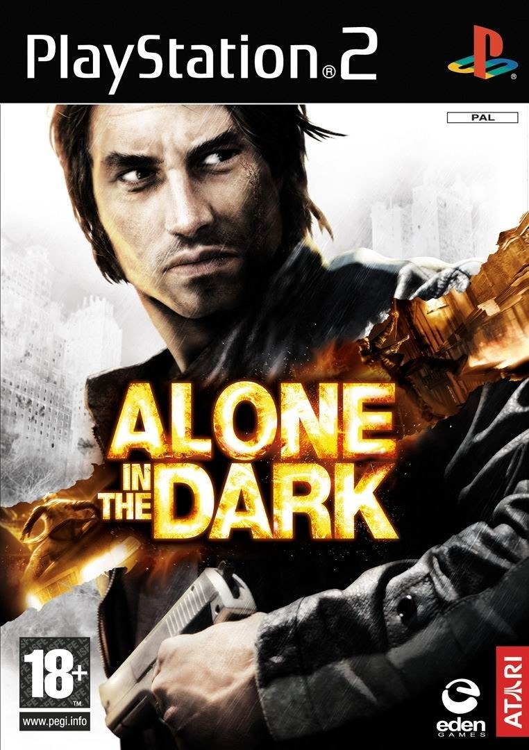 Alone In The Dark Playstation 2 Ps2 Game
