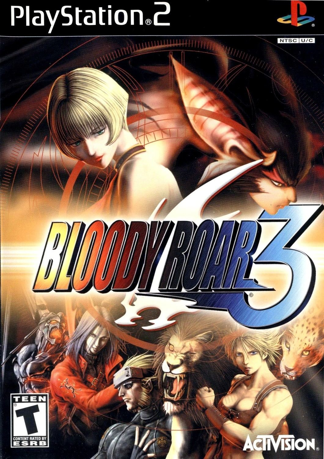 Bloody Roar 3 Playstation 2 Ps2 Game