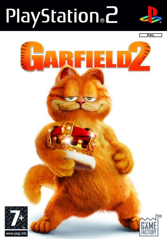 Garfield 2 Playstation 2 Ps2 Game