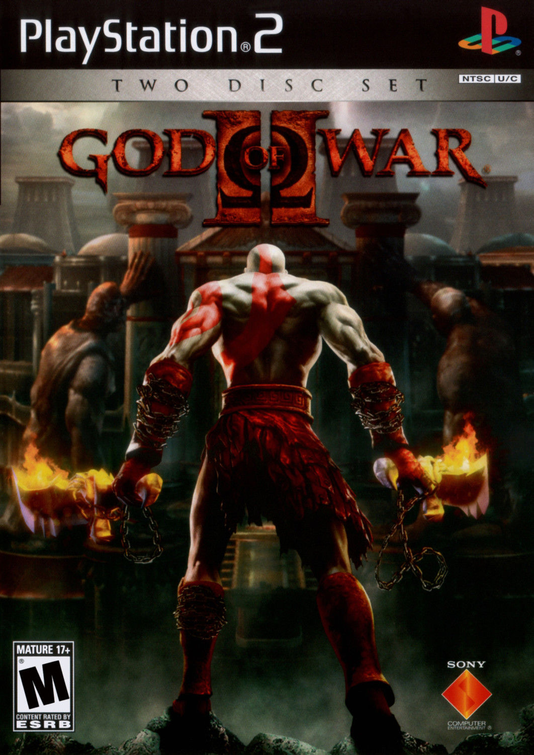 god of war 2 special edition ps2