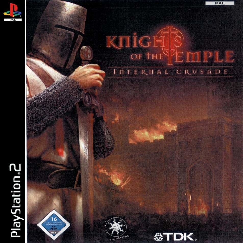 Knights of the Temple - Playstation 2: PS2 game