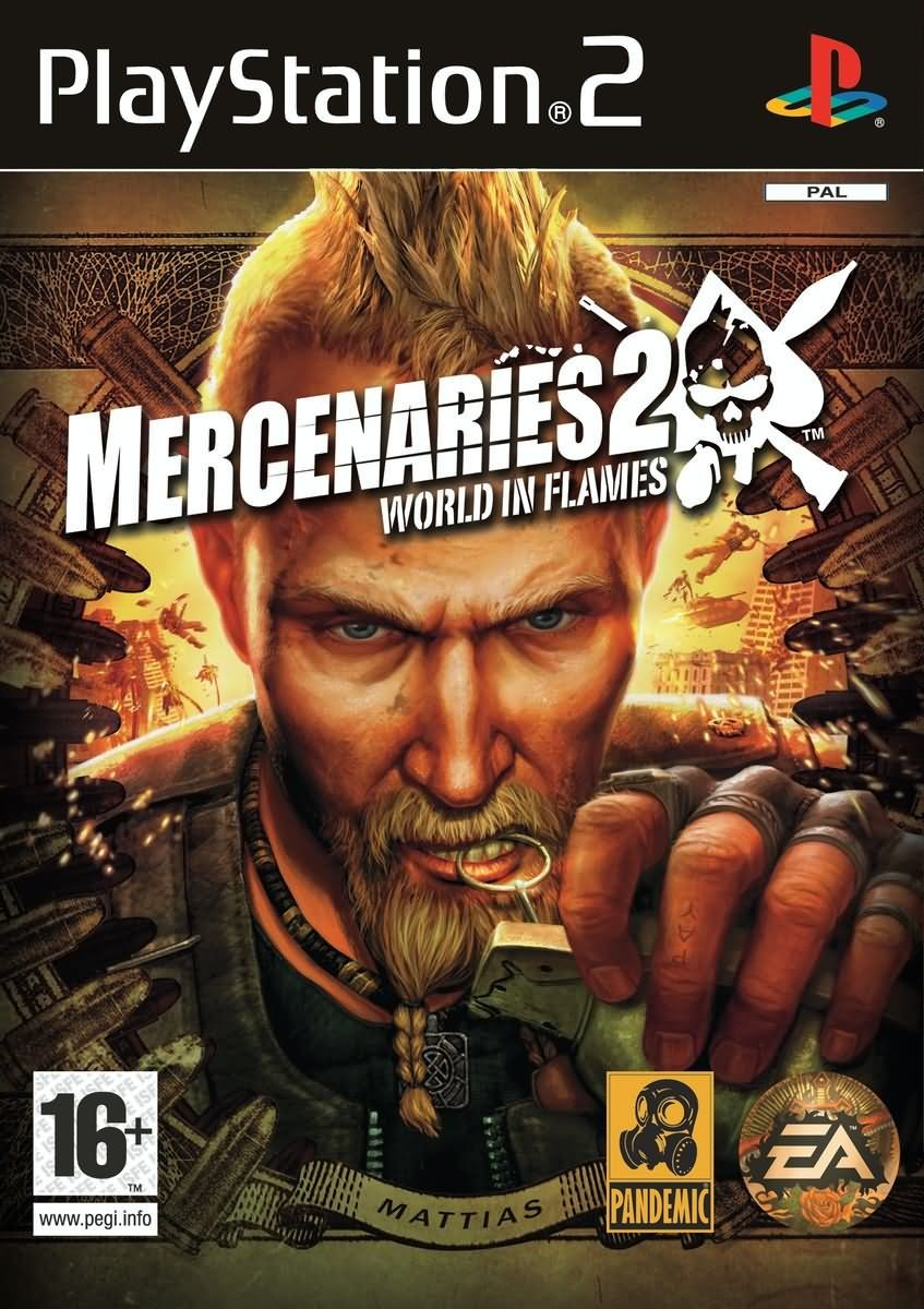 Mercenaries 2 world in flames playstation 2 ps2 game altavistaventures