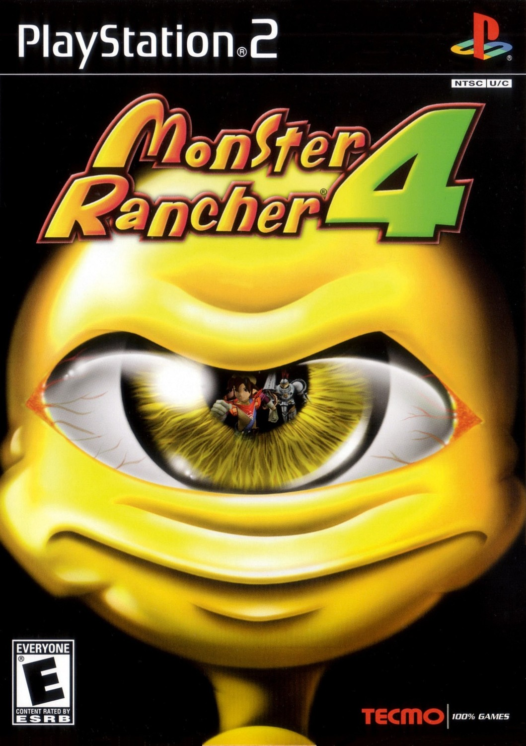 Monster Rancher 4 - Playstation 2: PS2 game