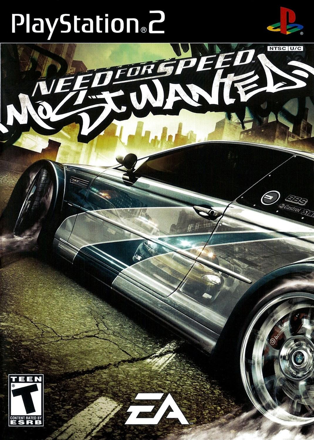 Need For Speed Most Wanted Playstation 2 Ps2 Game