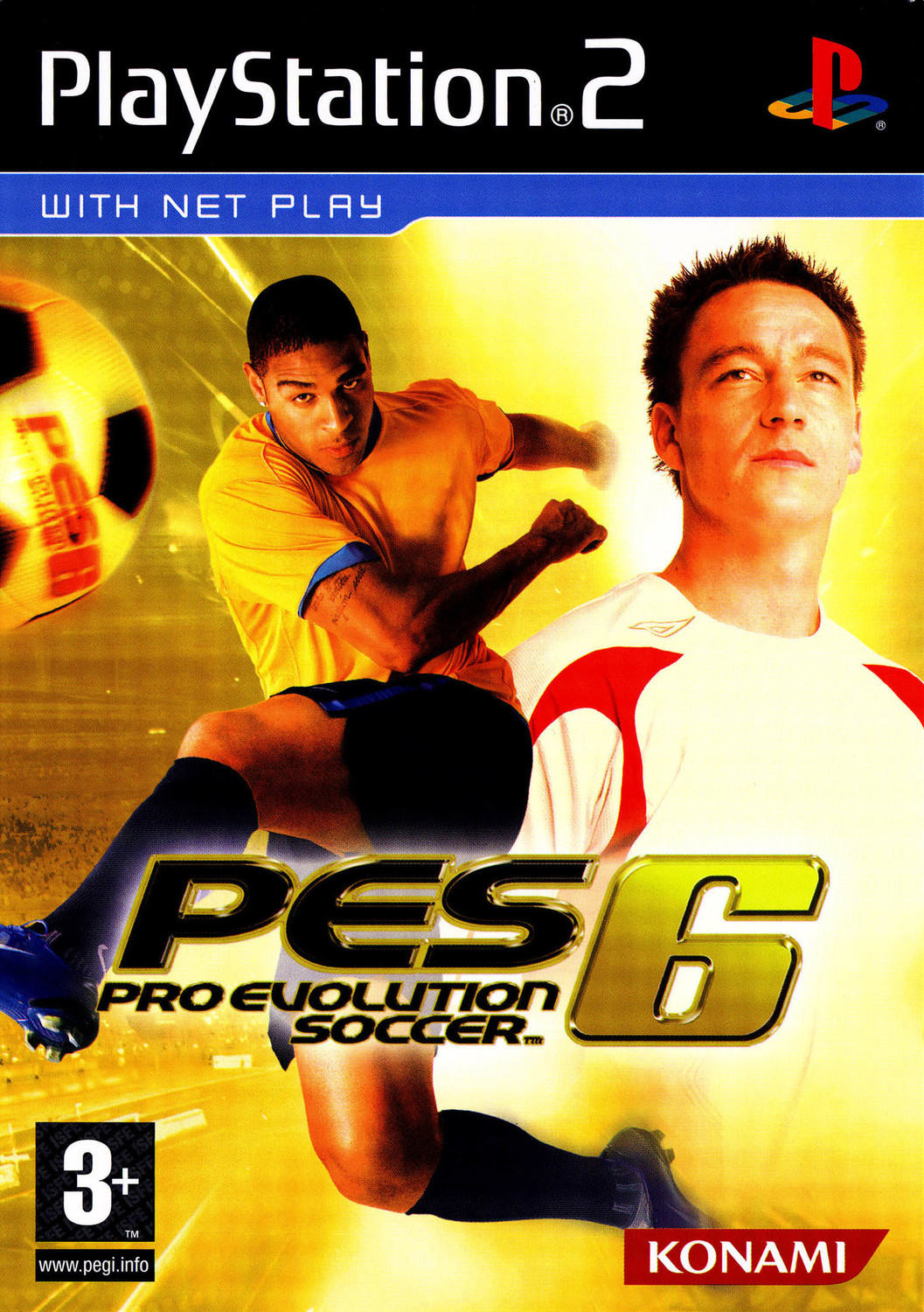 Pro Evolution Soccer 6 - Playstation 2: PS2 game