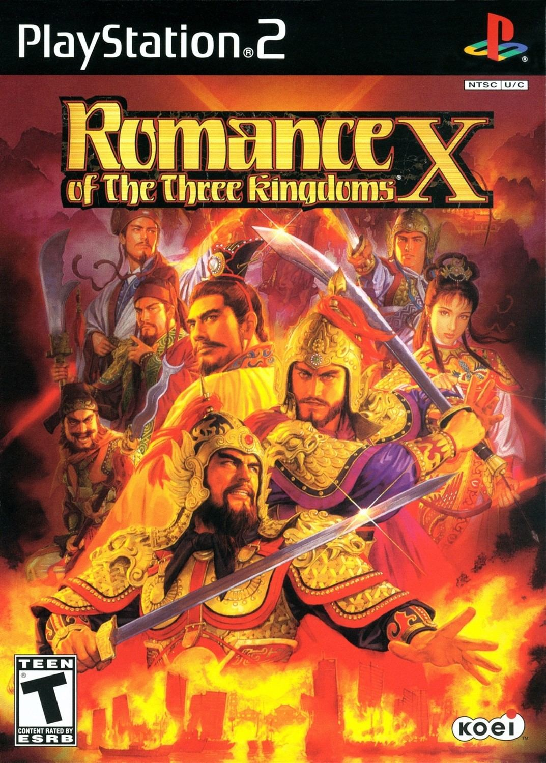 Romance of the Three Kingdoms X - Playstation 2: PS2 game