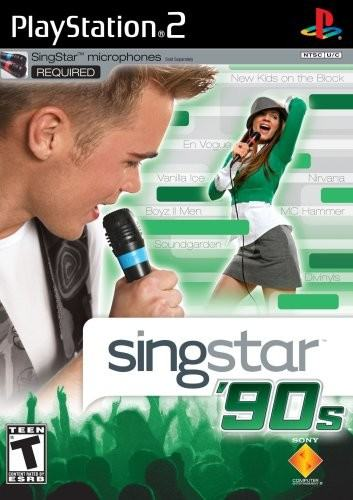 SingStar '90s - Playstation 2: PS2 game