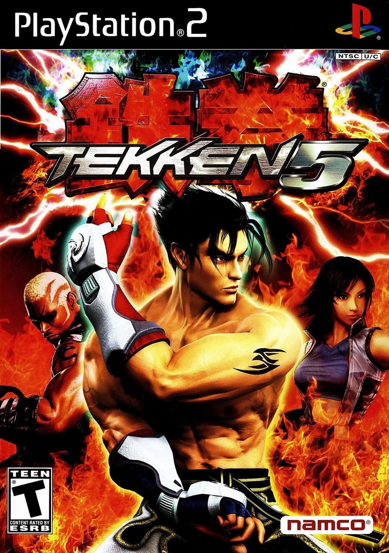 Tekken 5 Playstation 2 Ps2 Game