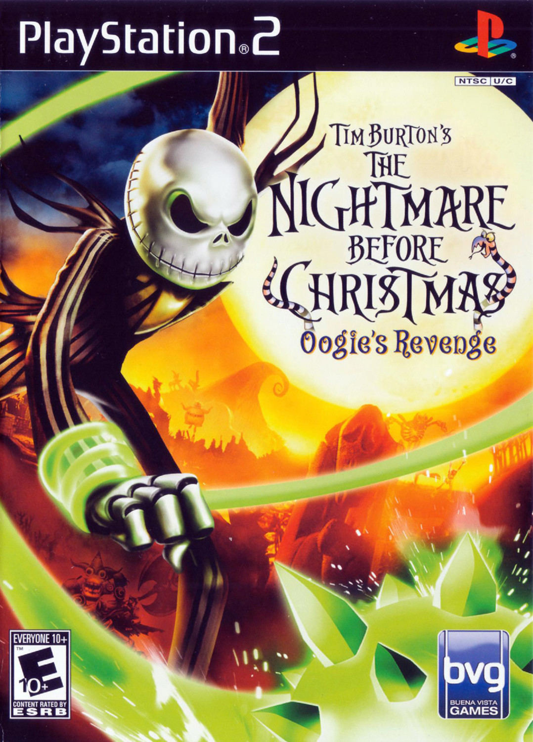The Nightmare Before Christmas: Oogie\'s Revenge - Playstation 2: PS2 ...
