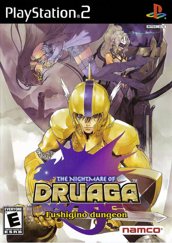 The Nightmare of Druaga: Fushigino Dungeon - Playstation 2: PS2 game