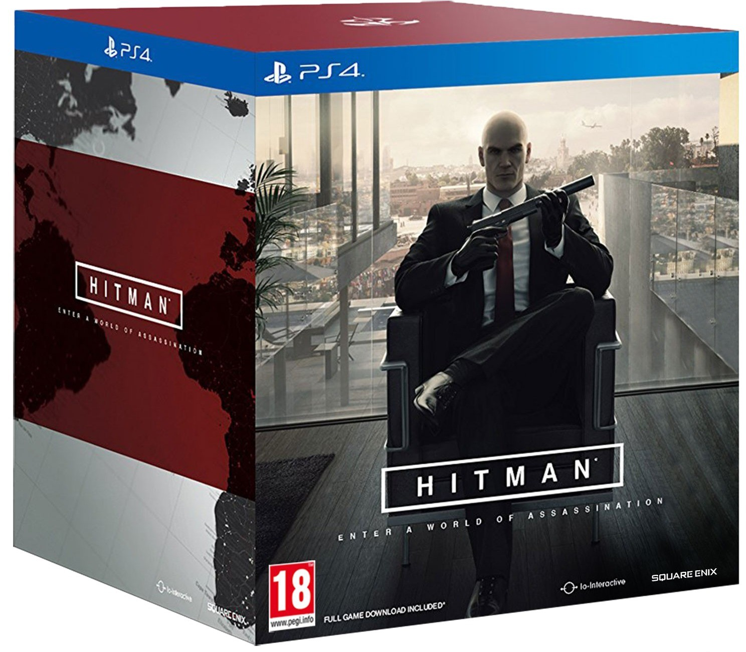 Hitman Collector S Edition Playstation 4 Ps4 Game
